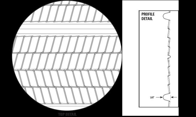 3/8″ Hi-Ribbed Metal Lath No Paper