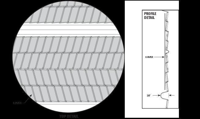3/8″ Hi-Rib Metal Lath with Paper