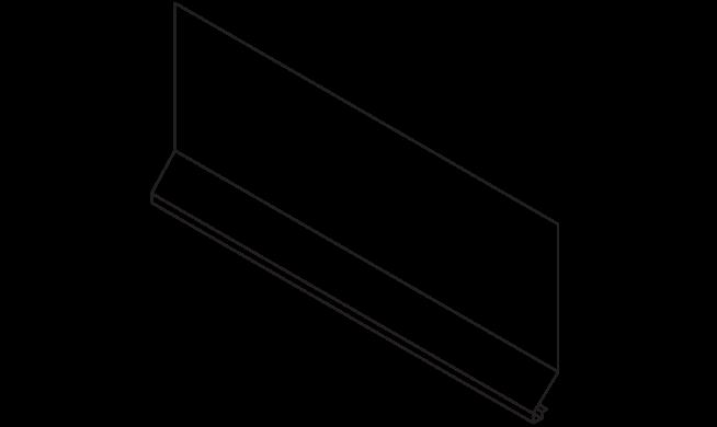 No 12 SOFFIT DRIP EDGE Graphic 1