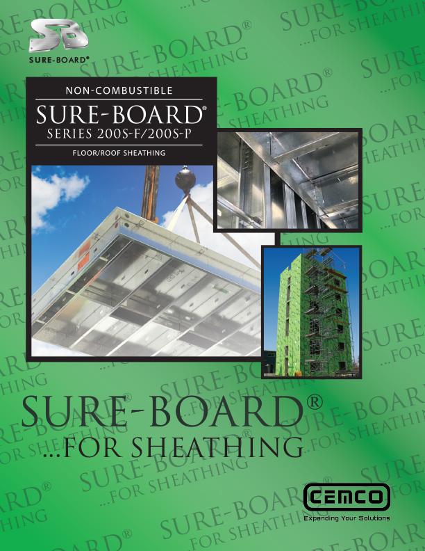 Sure Board Brochure cover