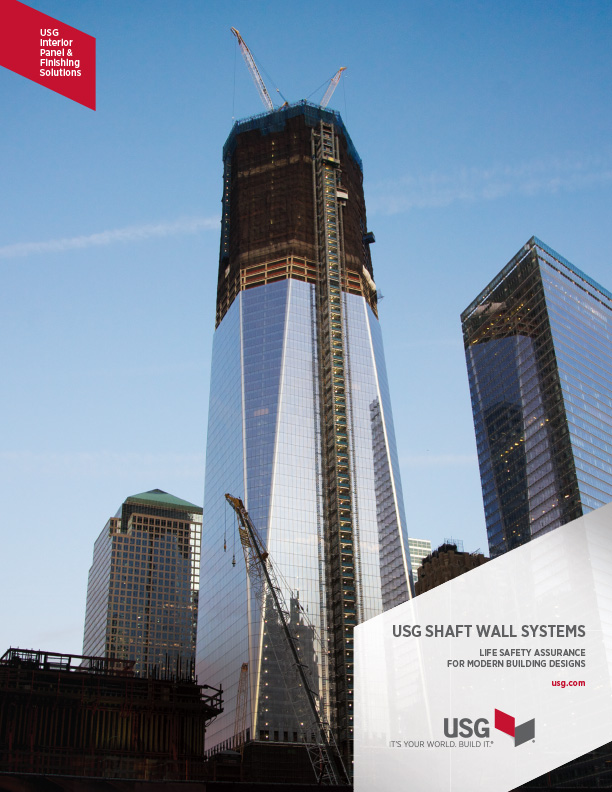 USG Shaft Wall Systems Catalog Cover