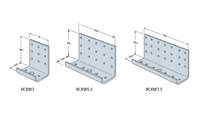 RCKW Kneewall Connectors