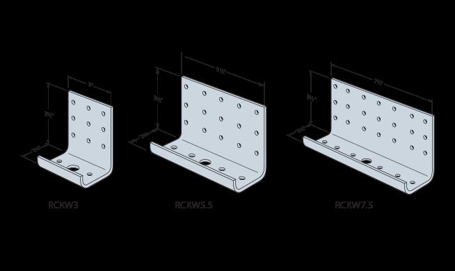 RCKW Kneewall Connectors