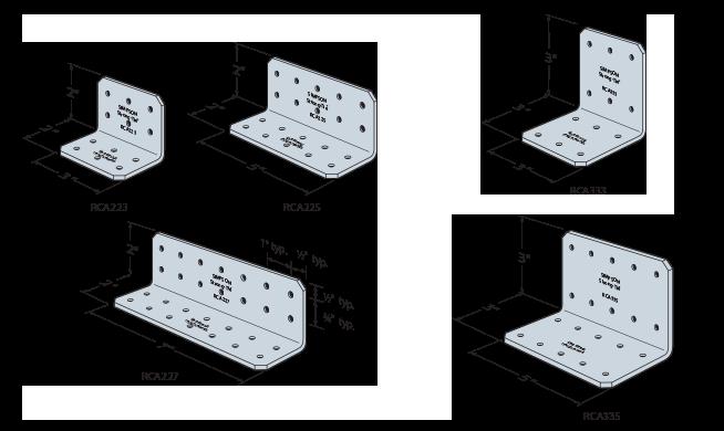 Rigid Connector Angles