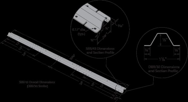 SBR and DBR Spacer Bracers