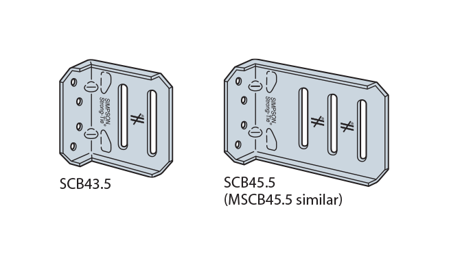 SCB/MSCB Bypass Framing Slide-Clip Connectors
