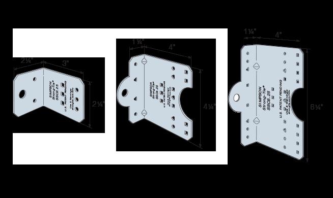 SSC Steel Stud Connectors