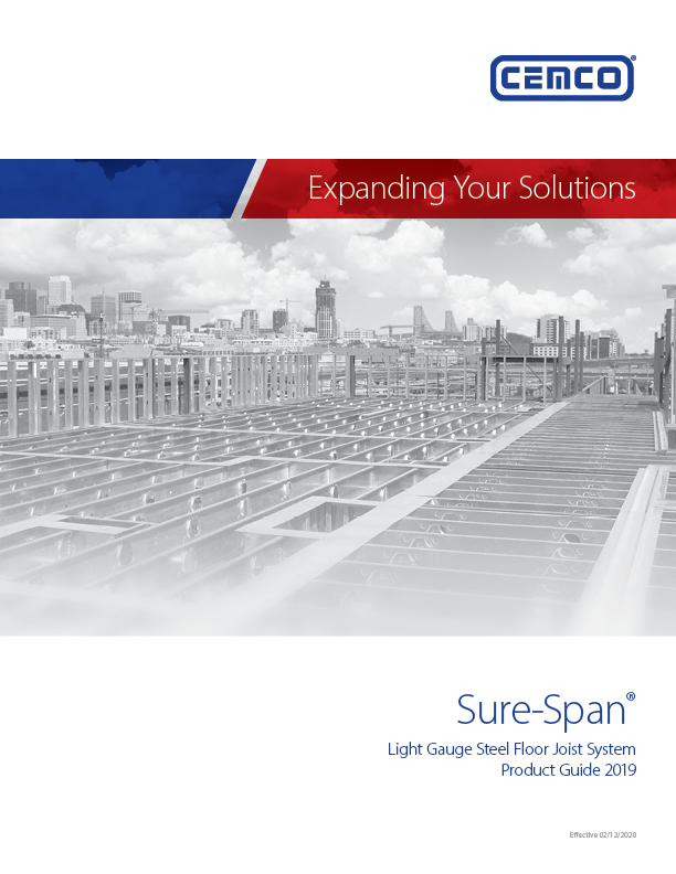 Sure Span Catalog Cover