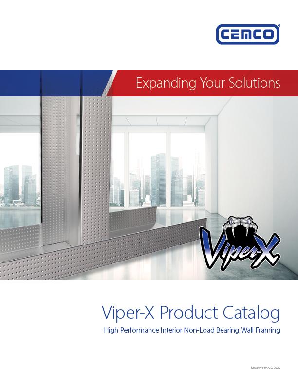 Viper X High Perf Catalog Cover
