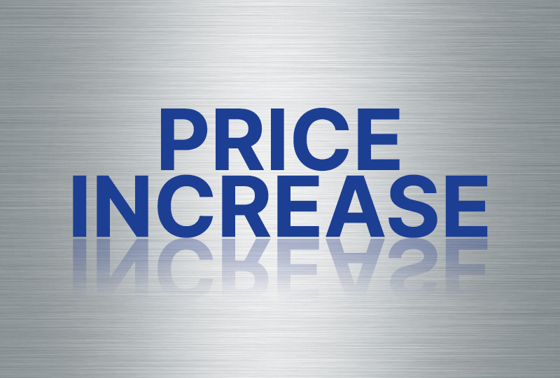 Price Increase 800x540
